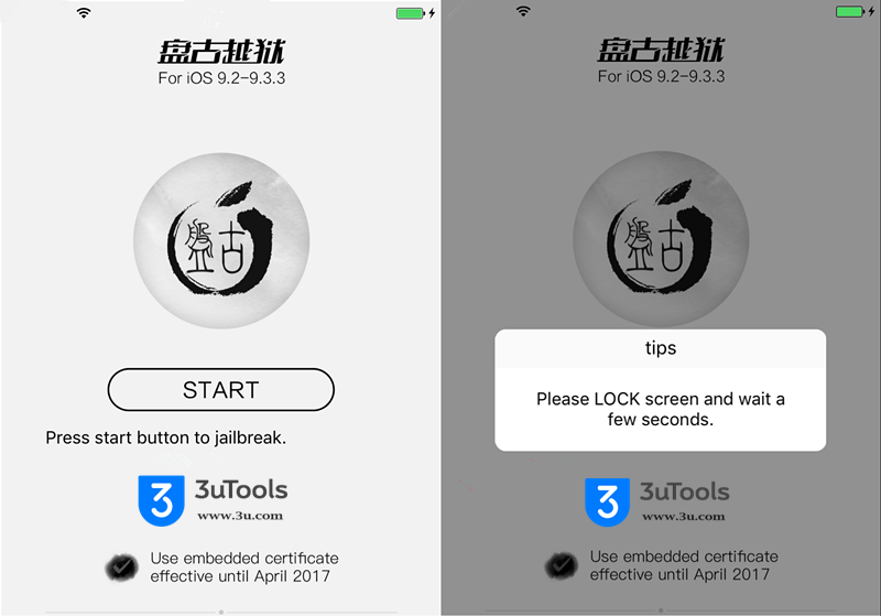 How to Jailbreak iOS 9.2 - 9.3.3 Using 3uTools?