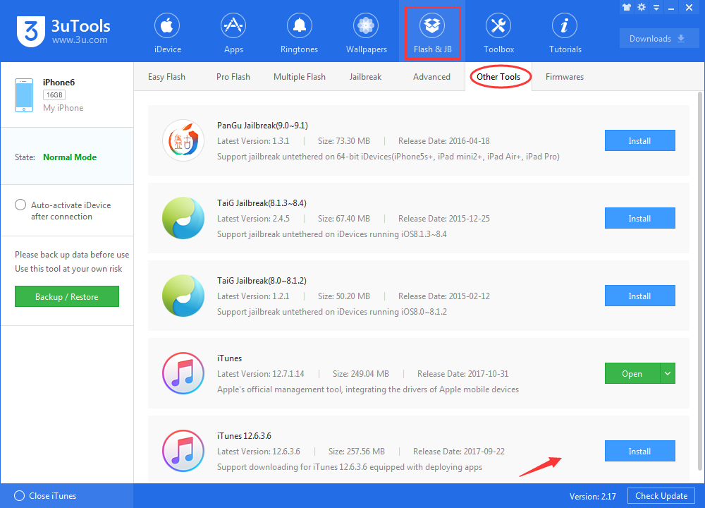 how to download itunes 12 6 3 in 3utools 3utools