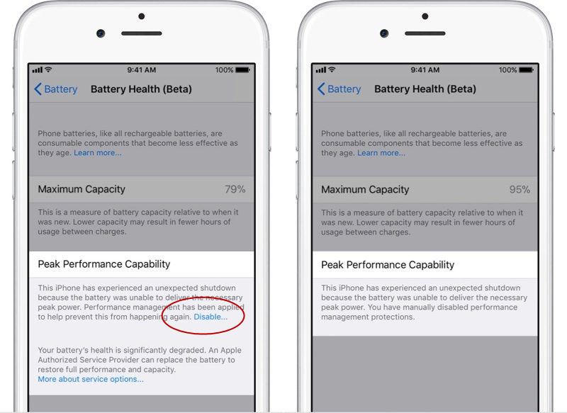 How to Check Battery Health in iOS 11.3 ?
