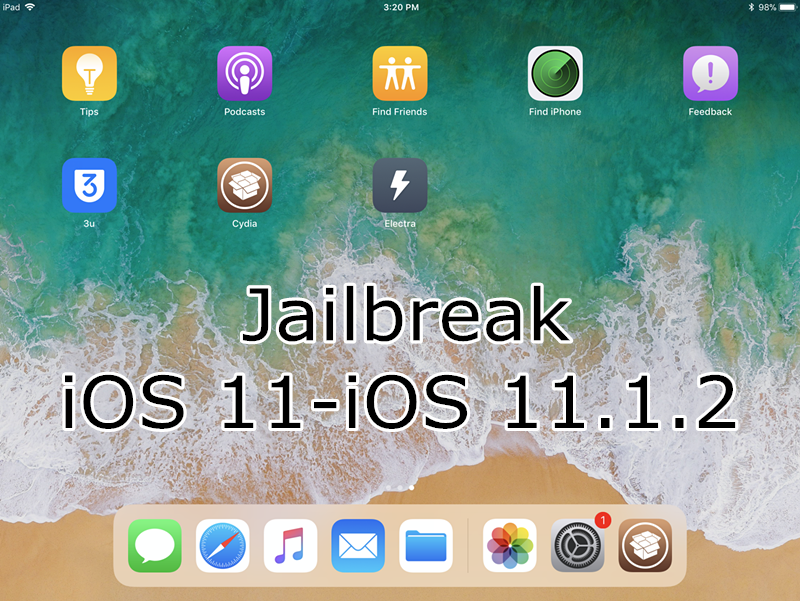 How to Jailbreak iOS 11- iOS 11.1.2 Using 3uTools?