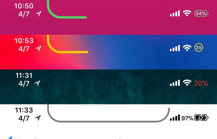 Get a Better Battery Level Indicator on Your iPhone X With Bazzi
