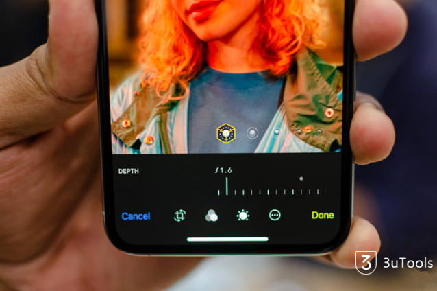 How to Edit Photos with Depth Control on iPhone XS/ Max?
