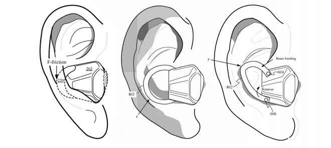 Apple Patents 'Universal' AirPods With Built-In Biometrics
